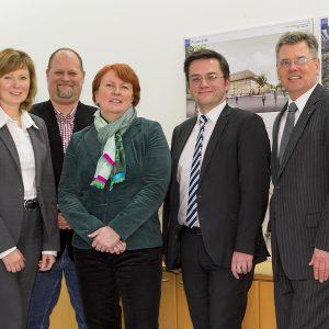 MdB Petra Hinz, MdL Britta Altenkamp sowie MdL und NRW-Justizminister Thomas Kutschaty bekräftigen Unterstützung